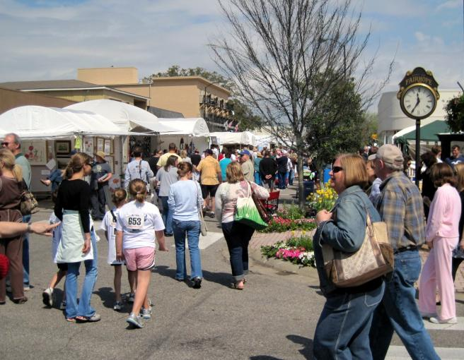 Fairhope, Alabama Arts and Crafts Festival
